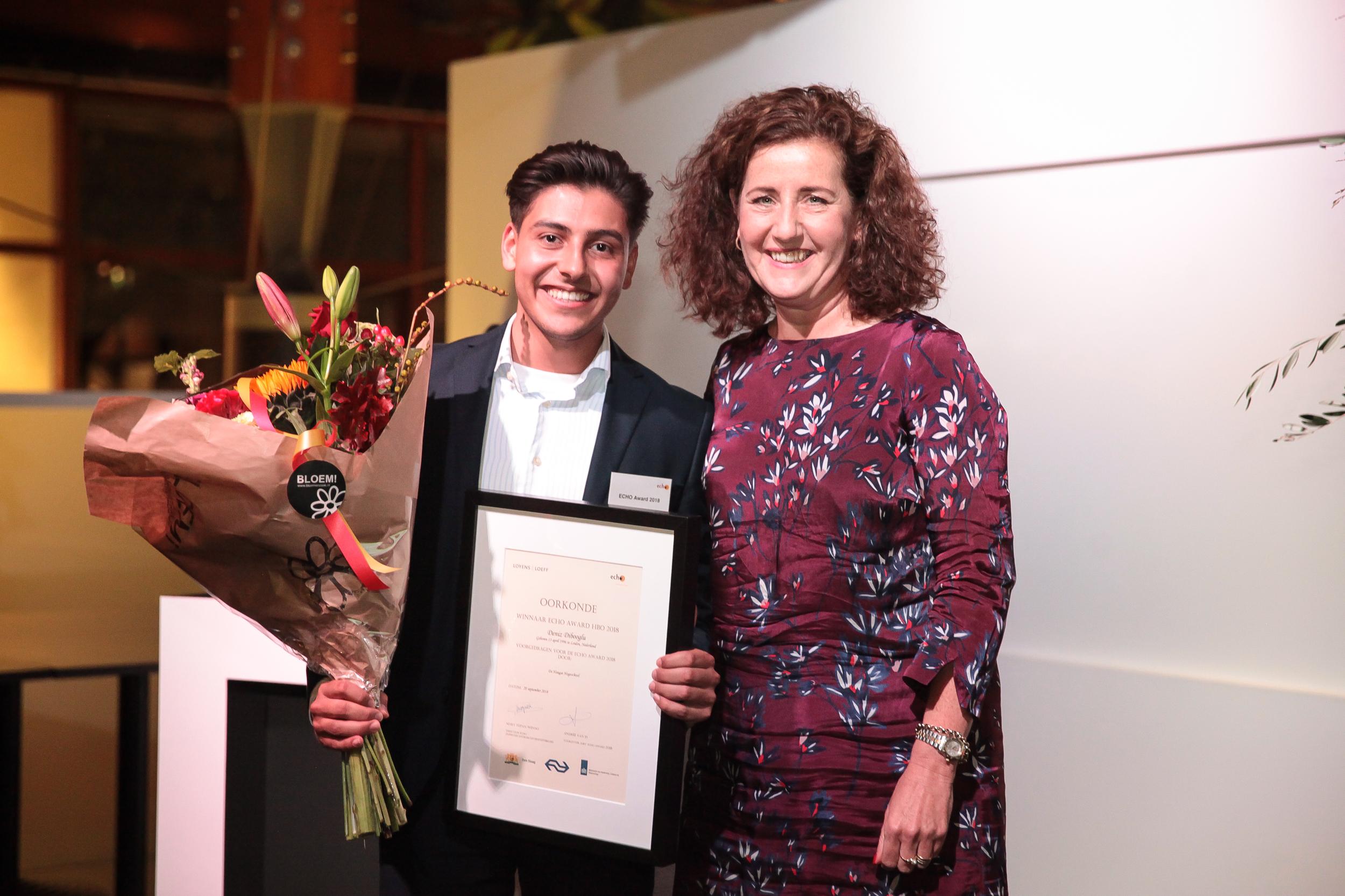 Winnaar ECHO Award hbo: Deniz Dibooglu